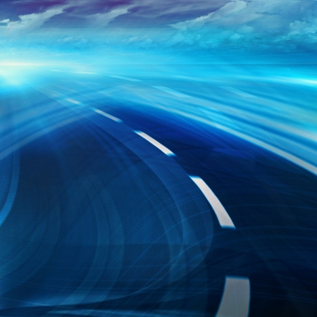Abstract speed motion in highway road   Stock Photo - 16429217