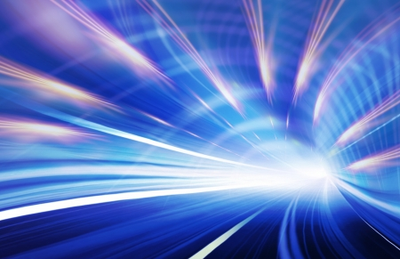 Abstract speed motion in urban highway road Stock Photo - 16429352