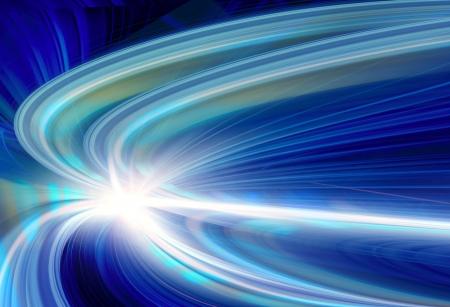 speed line: Velocit� di movimento astratto in galleria stradale autostradale
