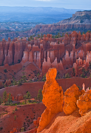 southwest usa: Bryce Canyon National Park, Utah Southwest USA, beautiful nature landscape, red rock formation, Hoodoos on a  summer morning