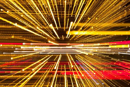 Abstract speed technology background, fiber optics, light burst,