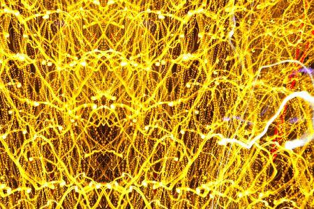 fiber optics: Abstract light technology background, colorful patterns design elements, futuristic fiber optics