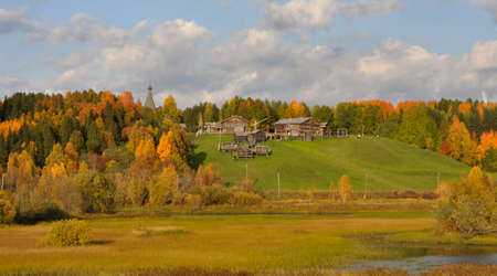 lyrical: The Museum of wooden architecture Malye Karely, Arkhangelsk region in Northern Russia