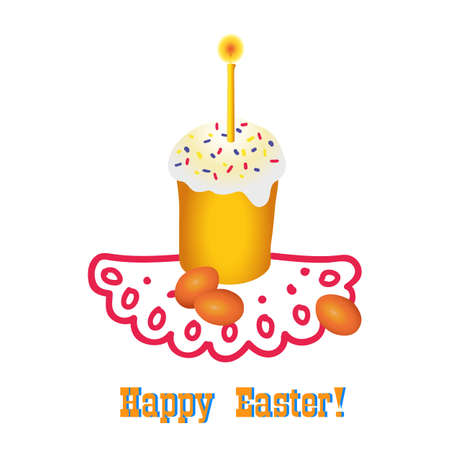 paskha: Easter Illustration
