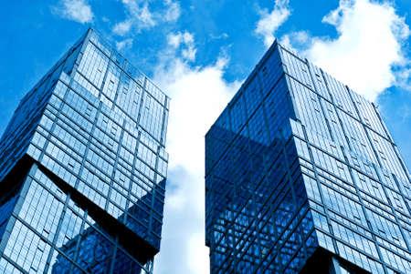 """새로운 장엄한 건물 현대적인 비즈니스 센터 """"모스크바시"""". 주거 단지 """"수도"""". 러시아, 모스크바 스톡 콘텐츠"""