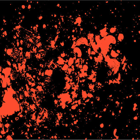 Abstract particles background, spots and stains of paint, vector grunge background Vetores