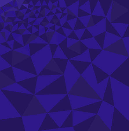fon: Polygon vector background, abstract triangular pattern, blue color mosaic patchwork