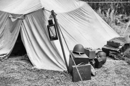 seconda guerra mondiale: La ricostruzione della vita e soggetti del secondo conflitto mondiale, campo militare, equipaggiamento militare