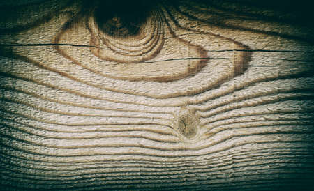 Wooden background with beautiful pattern of wood and vignette