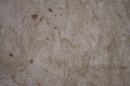 Grunge background canvas with brown paint closeup 스톡 콘텐츠