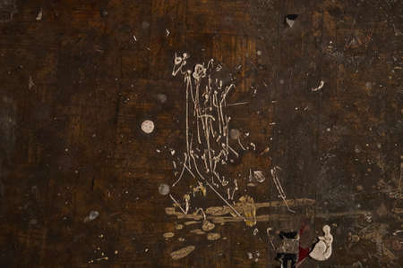 Dirty grunge background with paint blots and stains close up Stock Photo - 103112190