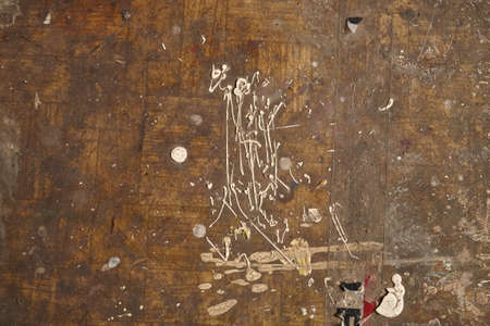 Dirty grunge background with paint blots and stains close up Stock Photo - 103112191