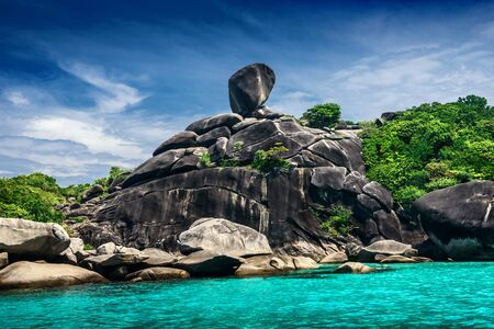 similan islands: Tropical landscape in Similan islands, Thailand