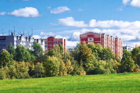 ecologically: Apartment block in ecologically clean area
