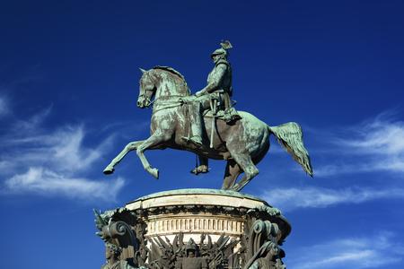 nikolay: Monument of Nikolay I - 1859 - Klodt. Saint-Petersburg. Russia