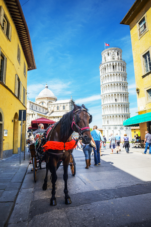 leaning tower of pisa: Leaning Tower, Pisa, Italy Editorial