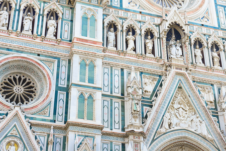 fiore: Cathedral of Santa Maria del Fiore (Duomo), Florence, Italy Stock Photo