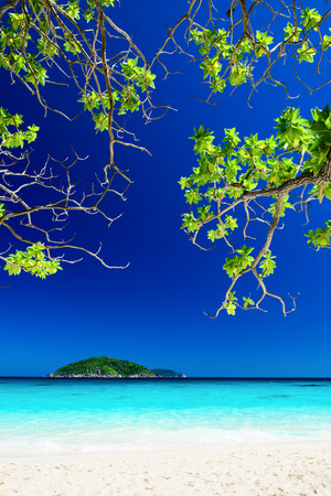 similan islands: Tropical landscape of Similan islands, Thailand Stock Photo
