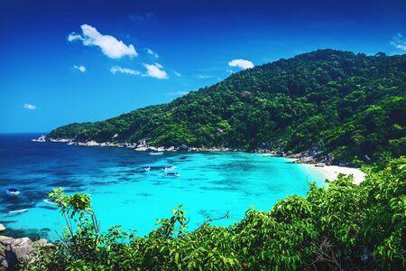 similan islands: Tropical landscape. Similan islands, Thailand Stock Photo