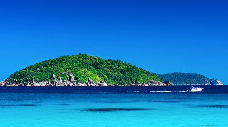 similan islands: Tropical landscape. Similan Islands, Thailand