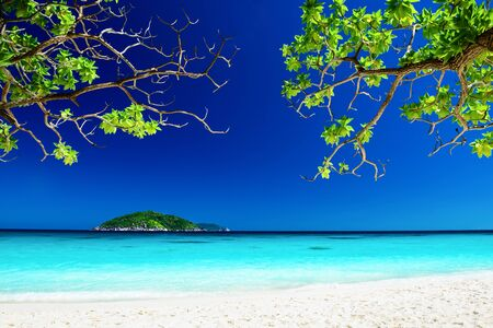 similan islands: Tropical landscape of Similan islands, Thailand Stock Photo