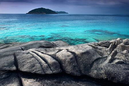similan islands: Tropical landscape. Similan islands, Thailand Stock Photo
