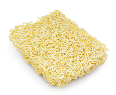 vermicelli: Uncooked fast food vermicelli Stock Photo