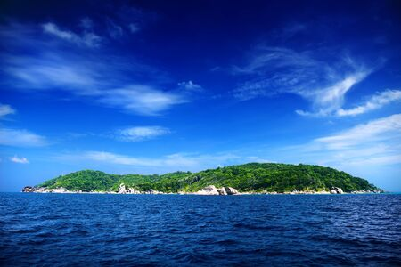 similan islands: Tropical island in Andaman sea. ocean Similan islands, Thailand Stock Photo