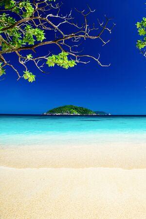 similan: Tropical landscape of Similan islands, Thailand Stock Photo