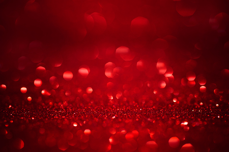 Red christmas glitter background