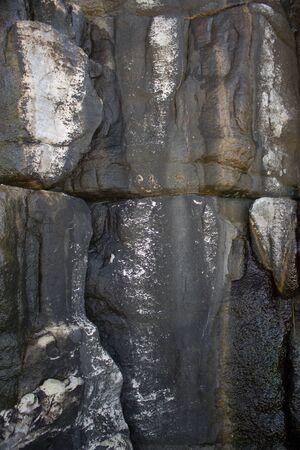 Small textures of rocks on the coast Reklamní fotografie
