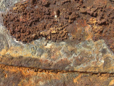Rust at a ship wreck (Mosambique) Stock Photo - 7520500