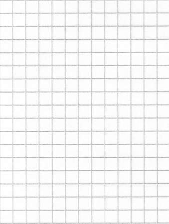 millimetres: Blank squared paper