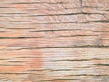 Coral colored oak wood texture