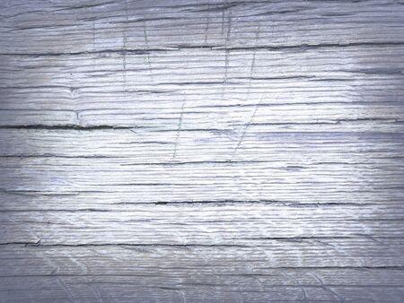 Blue gray colored oak wood texture Stock Photo