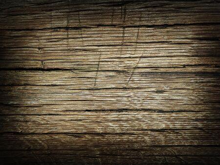 Dark brown colored oak wood texture