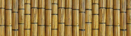 Wall made of reed mats, Africa background Stock Photo - 60390025