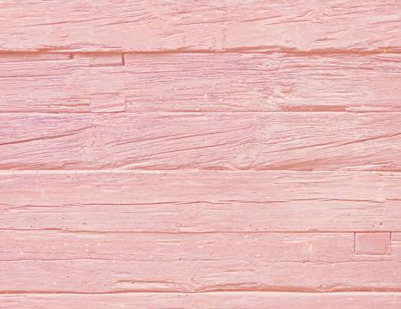Pink colored oak wood background