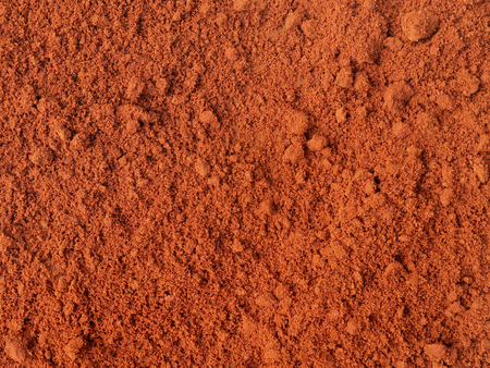 fulfilling: Red sand after rain. Maxixe, Inhambane, Mozambique, East Africa