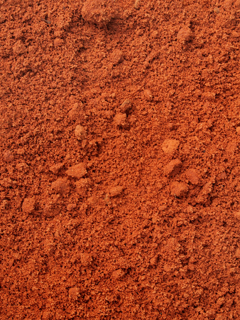 southern africa: Red sand after rain. Maxixe, Inhambane, Mozambique, East Africa, Southern Africa