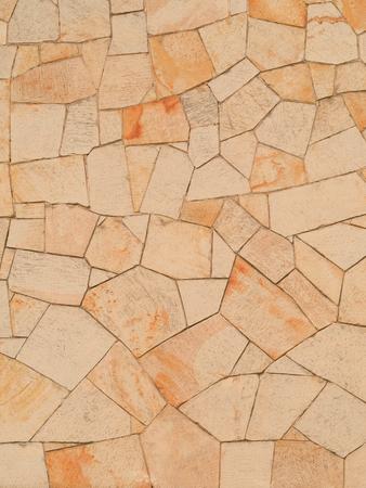 Sandstone background at a housefront