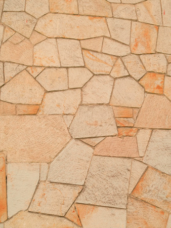 Sandstone background at a housefront Stock Photo - 64057124
