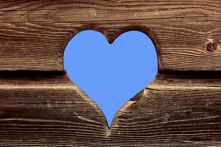 Herz aus Holz