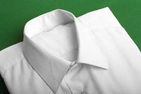 Fold long sleeves shirt  studio shot photo