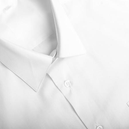 Fold long sleeves shirt  studio shot Stock Photo