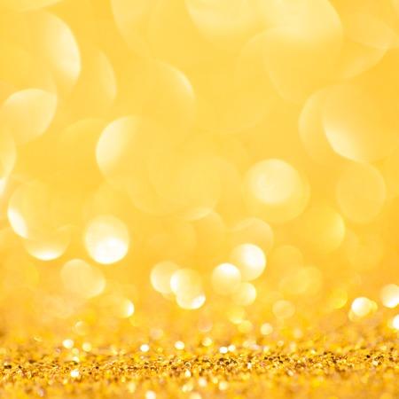 fondo elegante: Primavera de oro o de fondo de verano. Fondo abstracto elegante con bokeh desenfocado luces Foto de archivo