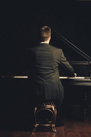 Piano klassieke musicus muziek speler
