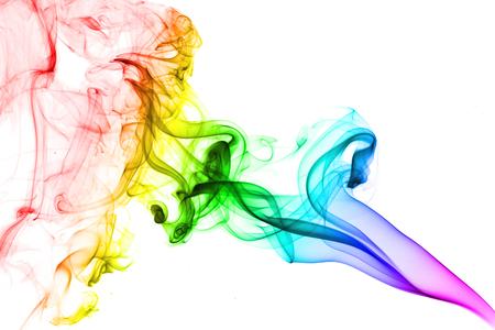 colored smoke: colored smoke