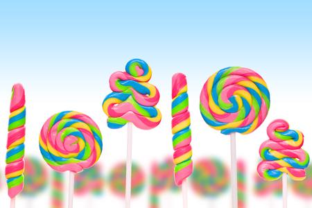 lolli: sweet stick candies