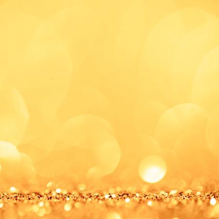 金色と黄色の円の背景